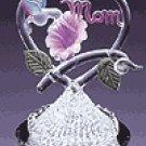 Spun Glass Hummingbird Mom -30254