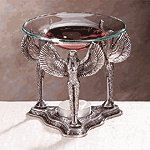 Pewter Isis Oil Warmer -33094