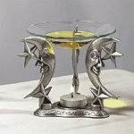 Pewter Celestial Oil Warmer -33866