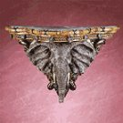 Elephant Head Wall Shelf -33678