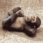 Reclining Monkey -33511