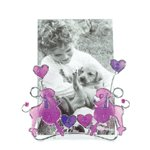 Pink Poodles Wire Frame -36870