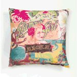 Sublimated Art Pillow - Glamour Girl -36777