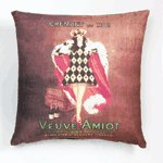 Sublimated Art Pillow - Veuve Amiot -36779
