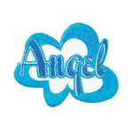 Angel Puffy Mesh Hangup Decor -36824