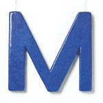 Glitter Initial M -36837