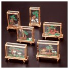 Mini Assorted Case Cork Sculpture Set -22698