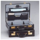 Top Grain Leather Attache Case -22951