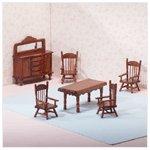 6-Piece Wood Mini Dining Room -25139