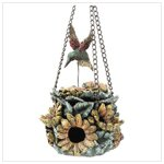 Alabastrite Hummingbird House-Feeder -30125