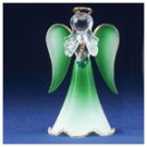 Glass Angel With May Birthstone -30819
