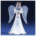 Glass Angel With June Birthstone -30820