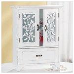 Wood Shabby Elegance Cabinet -31515