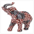 Patchwork Elephant - American Flag -31774
