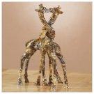 Patchwork Giraffe Pair-Safari -31775