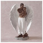 African Angel With Baby -32072