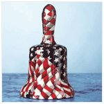 American Flag Patchwork Liberty Bell -32230