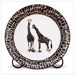 Patchwork Giraffe Plate -32416