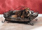 Pet Bed With Leopard Pad -35269