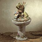 Colorful Frog Fountain -34678