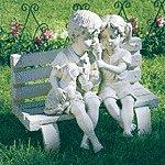Garden Statue Bench -35385