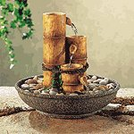 Alabastrite Bamboo Water Fountain -31027