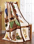 Country Home Fleece Blanket -35665