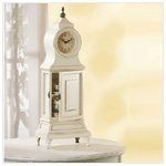 Wood French Style Table Clock -33170