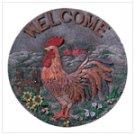 Rooster Garden Plaque -33233