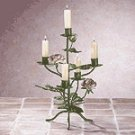 Metal Rose Candelabra -33594