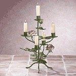 Metal Rose Candelabra -33594