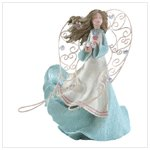 Spring Angel with Metal Wings -33796