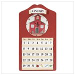Schoolhouse Calendar and Clock -35318
