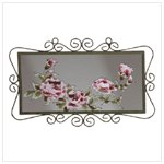 Victorian Rose Wall Mirror -34219