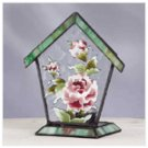 Victorian Rose House Votive Holder -34222