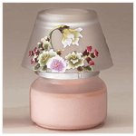 Victorian Flowers Candle Jar -34228