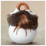 Rabbit Fur Vase -34232