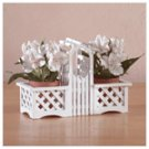Lattice Fence Duo Planter -34292