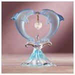 June Birthstone Dolphins -34335