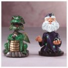 Merlin and Dragon Bobbleheads -34367