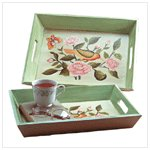 Birds and Flowers Nesting Trays -34370