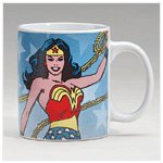 Wonder Woman Decal Mug -34381