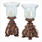 Baroque Style Hurricane Lamps -34033