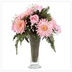 Fabric Daisy Bouquet -34077