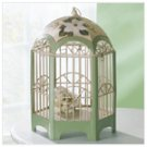 Metal Magnolia Decorative Birdcage -34767