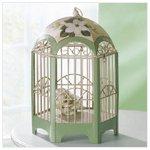 Metal Magnolia Decorative Birdcage -34767