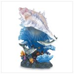 Conch Shell and Sea Life Night Light -34801