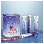 1-Dozen Patriotic Party Poppers -34537