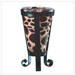 Giraffe Pattern Cone-Shaped Candle -34644