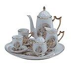 10-Piece Porcelain Madonna & Child Tea Set -31526